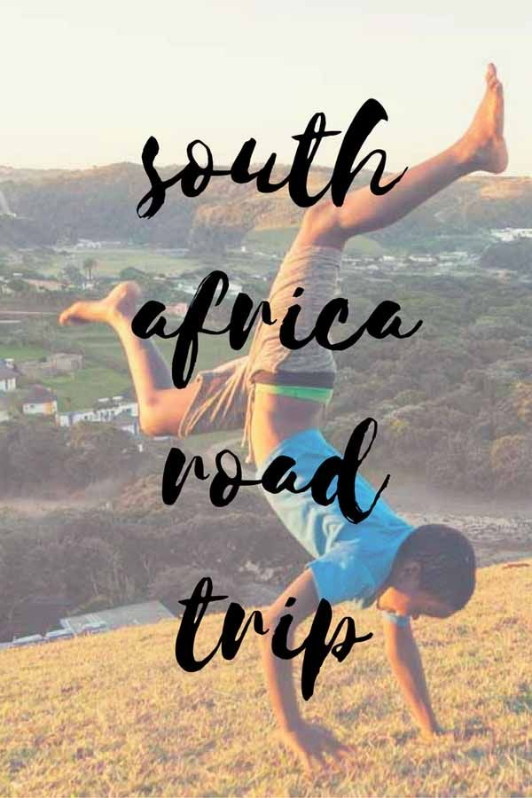 south africa road trip pin
