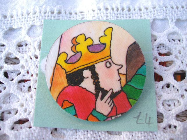 King Rollo pin badge. £4.00