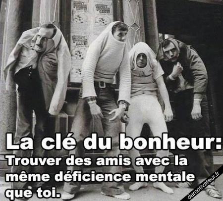 Les amis Demotivateur.fr | La clé du bonheur