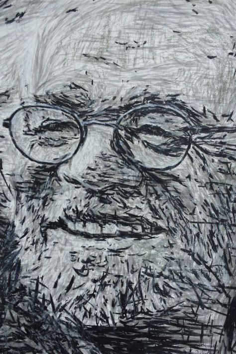 """Richard Harris.Munster Forever."" by Clare and Irish Visual Artist Thomas Delohery"