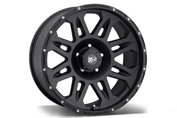 Pro Comp 7005 Black Wheels - Best Price on ProComp 7005 Satin/Flat/Matte Black Rims for Trucks