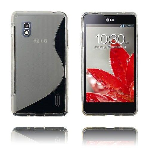 S-Line (Läpikuultava) LG Optimus G E975 Suojakuori