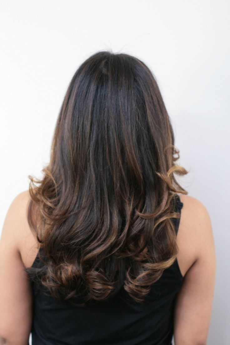 Polish your hair color to perfection by adding some dramatic highlights and lowlights into your brunette locks. Description from darkbrownhairs.net. I searched for this on bing.com/images