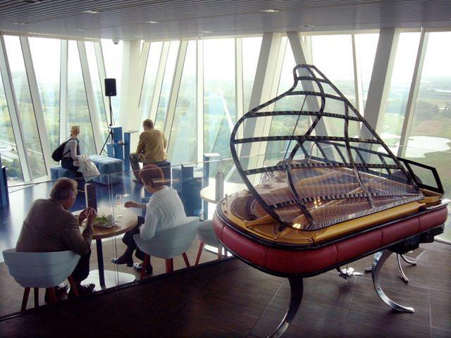 PH Grand Piano at Bella Sky Hotel in Copenhagen