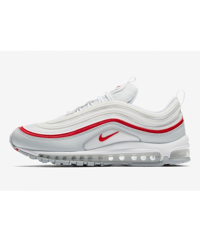 Nike Air Max 97 OG Blanc Rouge Chaussures | Nike air max 97 ...
