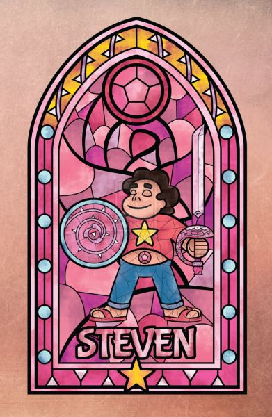 Steven Universe Stained glass