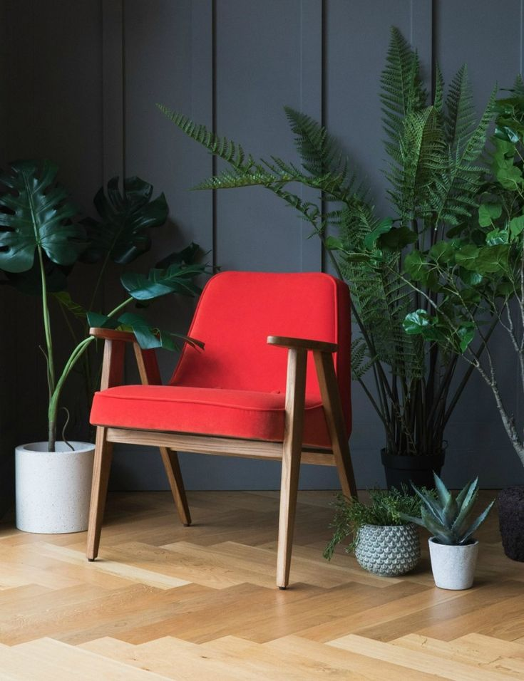 Jozef Chierowski 366 Easy Chair Velvet at Rose & Grey