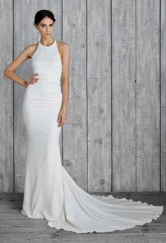 Nicole Miller 2015 Wedding Dresses Include Modern Sexy Styles for Fall | TheKnot.com