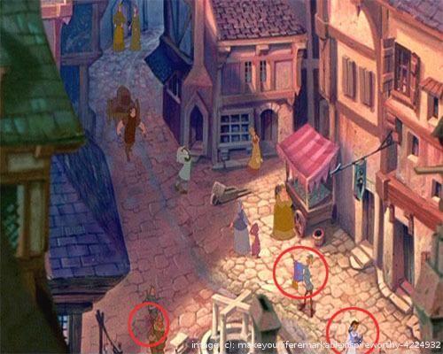 Hidden Disney Characters in Disney Movies