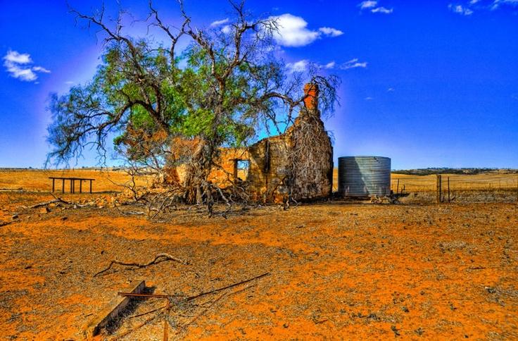 Abandoned Homestead, South Australia