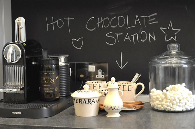 Hot Chocolate Station Marie-chantal blog