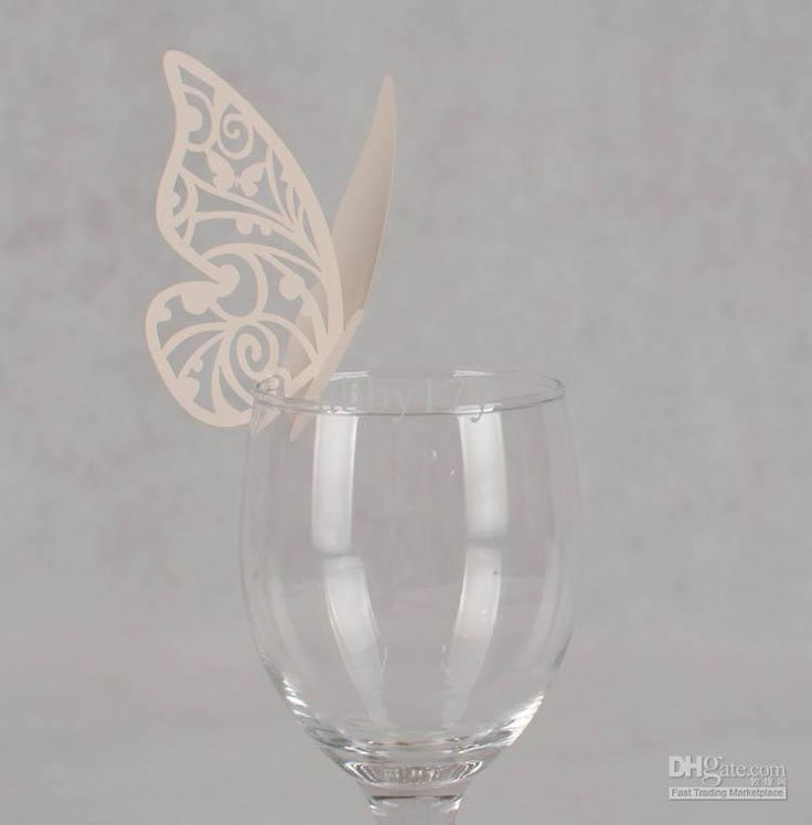 Wholesale Laser cut Ivory wedding Butterfly place cards,BKHD 004 Butterfl paper cards, Free shipping, $0.23/Piece | DHgate