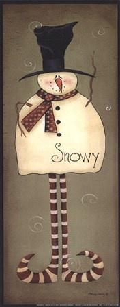 Mini-Snowy by Bonnee Berry art print