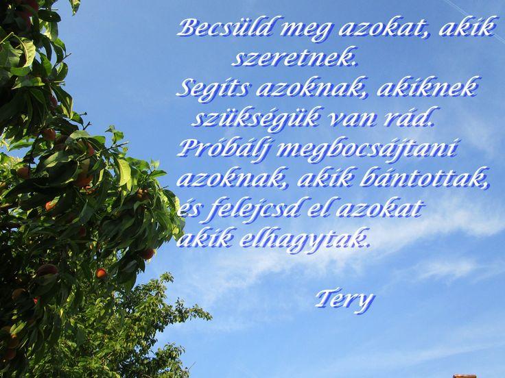 BECSÜLD MEG AZOKAT...Tery