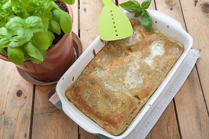 Lasagne al pesto alla genovese senza glutine