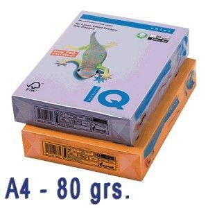Papel de colores de moda.   Idóneos para impresión inkjet, láser y fotocopias de la más alta calidad.  Paquete de 500 hojas A4 de 80 grs.  Color: LAVANDA