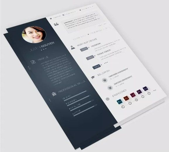 24 Best Cv Images On Pinterest | Cv Template, Templates Free And