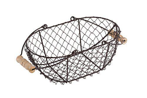 15 best vintage wire baskets images on pinterest