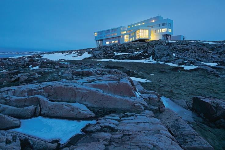 Fogo Island Inn | Newfoundland, Canada | Saunders Architecture | photo Iwan Baan