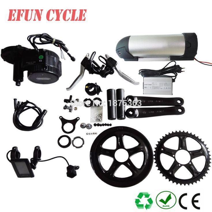 Conversion ebike kit Bafang BBS01 36V 350W mid drive motor kit 36V 14.5Ah Lithium  bottle battery