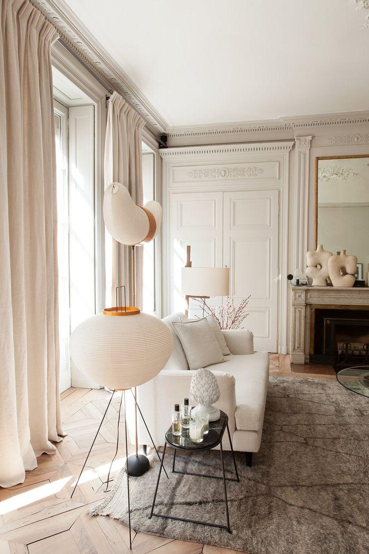 les 25 meilleures id es de la cat gorie rideaux salon sur. Black Bedroom Furniture Sets. Home Design Ideas