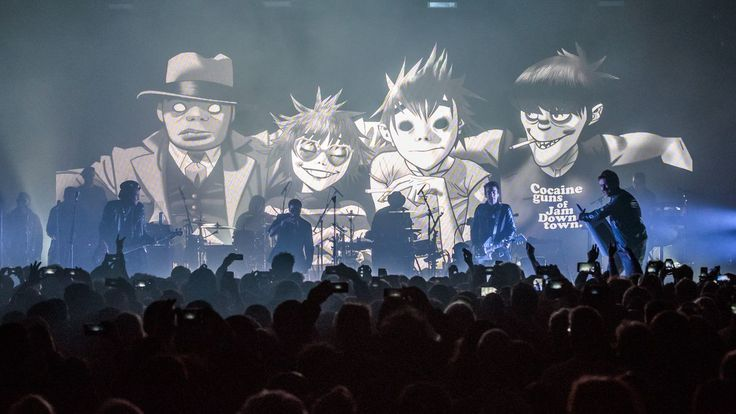 Newswire: The new Gorillaz album is here: #gorillaz