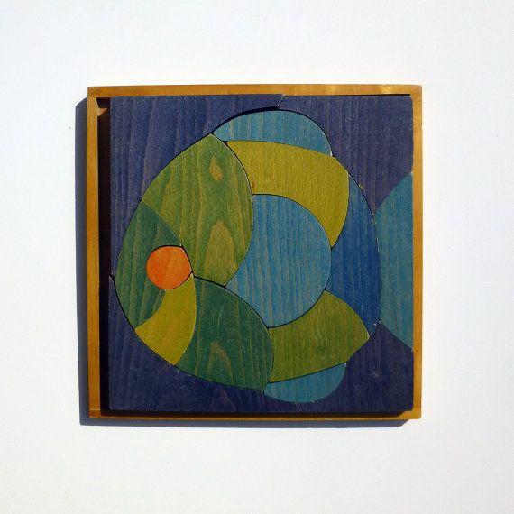 Wooden Fish Puzzle - Selecta Spielzeug - designed by Tilmann Förtsch and Günther Menzel