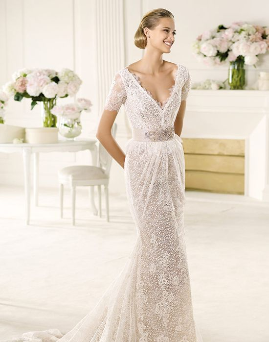 13 best maggie sottero madelyn rose images on pinterest for Wedding dresses spanish designer