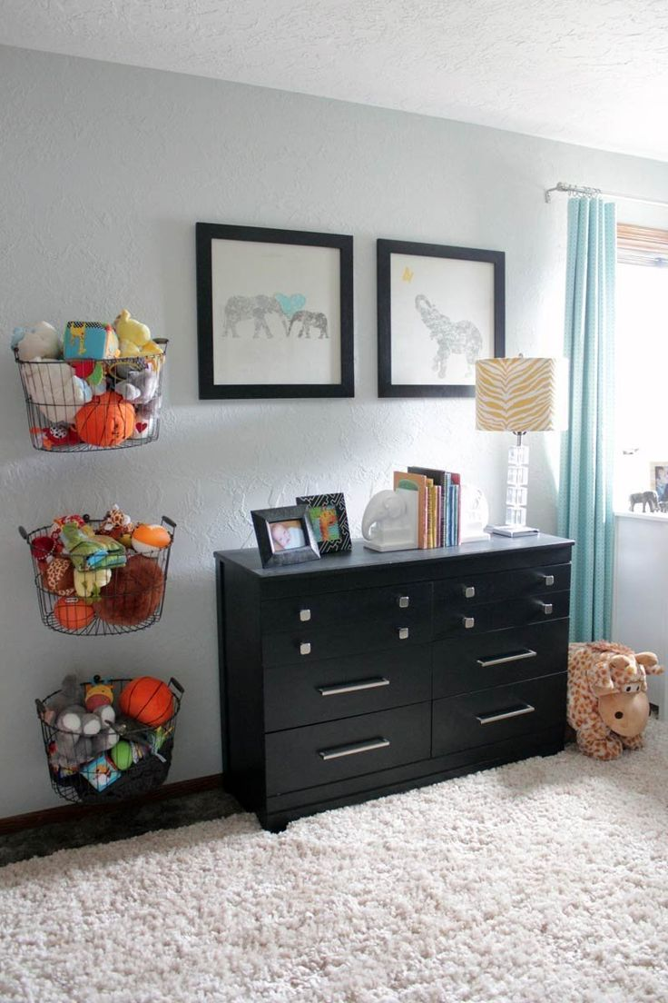 Baby e 39 s beautiful budget friendly nursery my room for Hampers for kids rooms