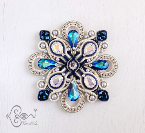 """Sneak peek of my new necklace """"Crystal Blossom"""""""