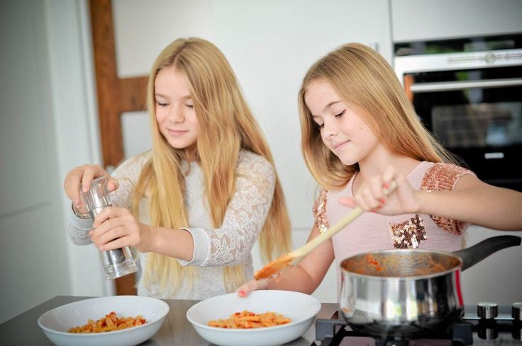 Our beautiful sauces are wonderful for children to use as an easy cooking base. Great fir experimenting and taking on some responsibilities! #parenting