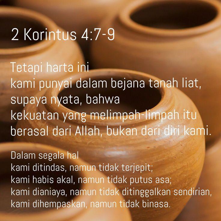 2 Korintus 4:7-9