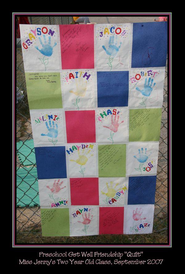 Classroom Quilt Themes ~ Preschool friendship quilt by ariannasage viantart