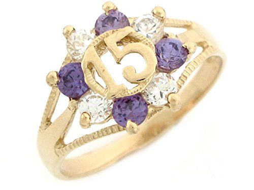 7 best QUINCEAERA RINGS images on Pinterest