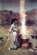 The Magic Circle 1886 by John William Waterhouse