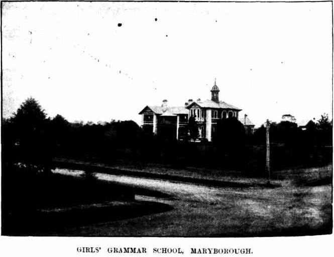 Girls Grammar School 1895