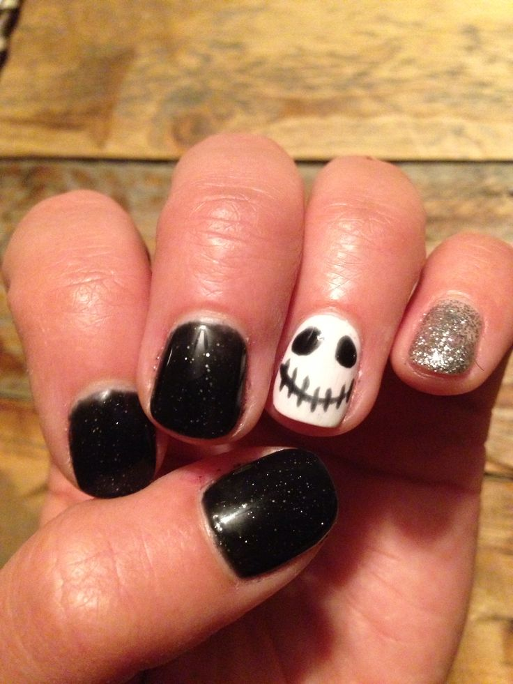 Halloween gel nails. | Nails by me ... | Pinterest