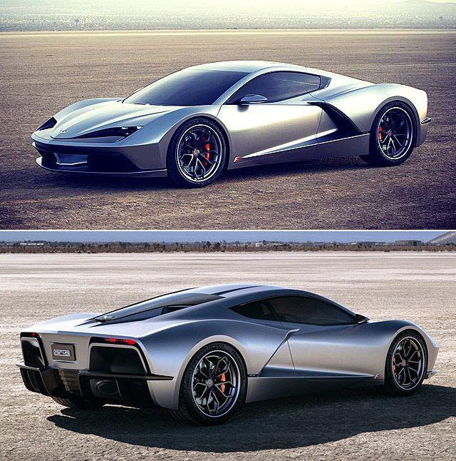 Der Aria Fxe Ist Ein Amerikanischer Mittelmotor Hybrid Supersportwagen Mit 1150 Ps Super Cars Luxury Cars Car