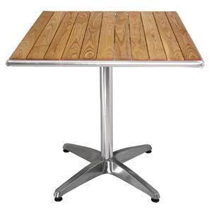 Bolero Ash Top Table Square 700mm