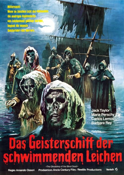 Amando Ossori/'s El Buque Maldito Horror movie poster print #31