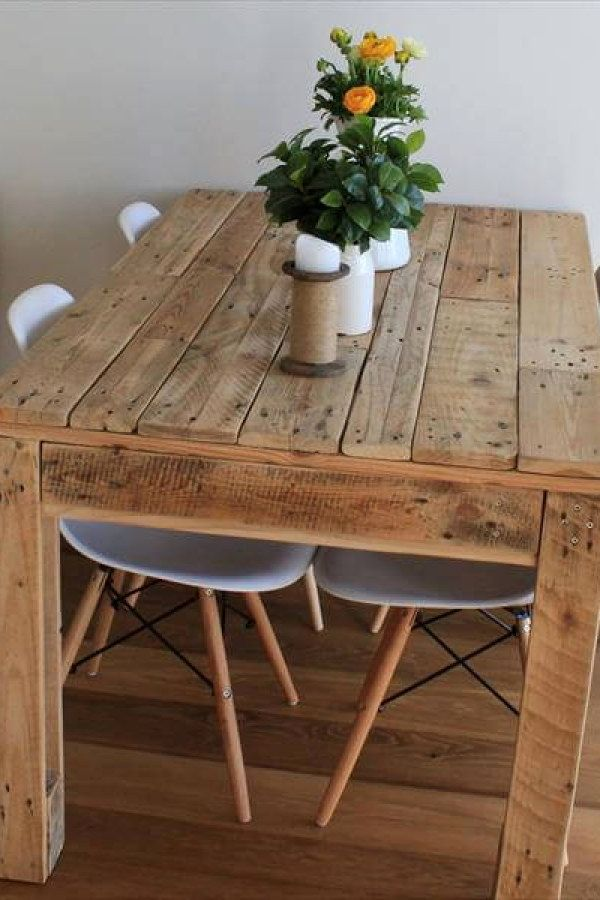 10 stunning crate style table plans to complement your decor pallet rh pinterest com pallet table plans pdf pallet coffee table plans
