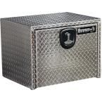 Buyers Products Company 24 in. Aluminum Recessed Door Underbody Tool Box with T-Handle Latch