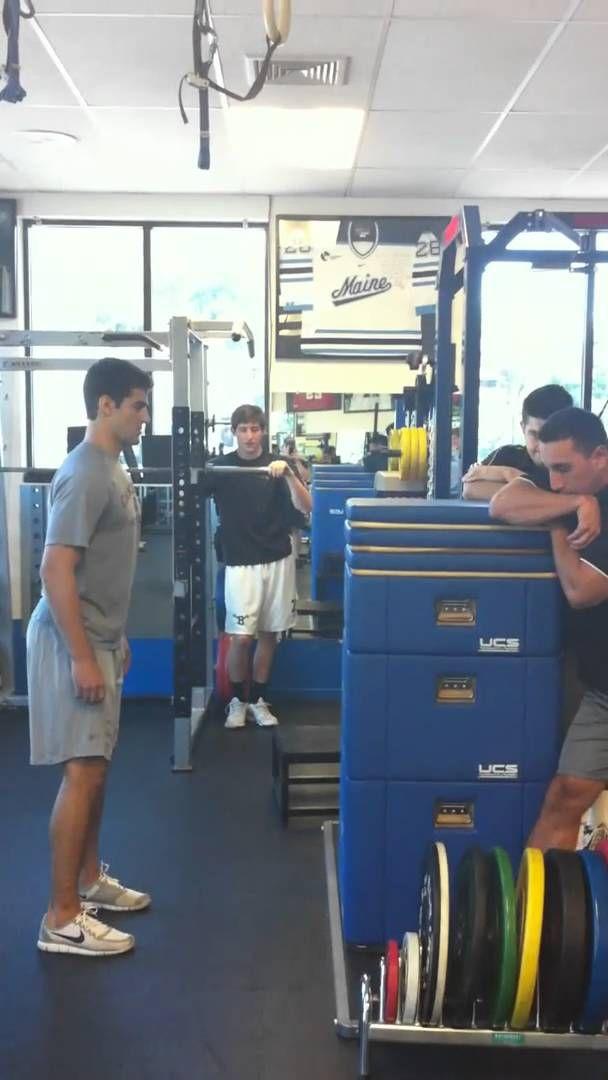 "Max Pacioretty completes 5' 7"" Box Jump."