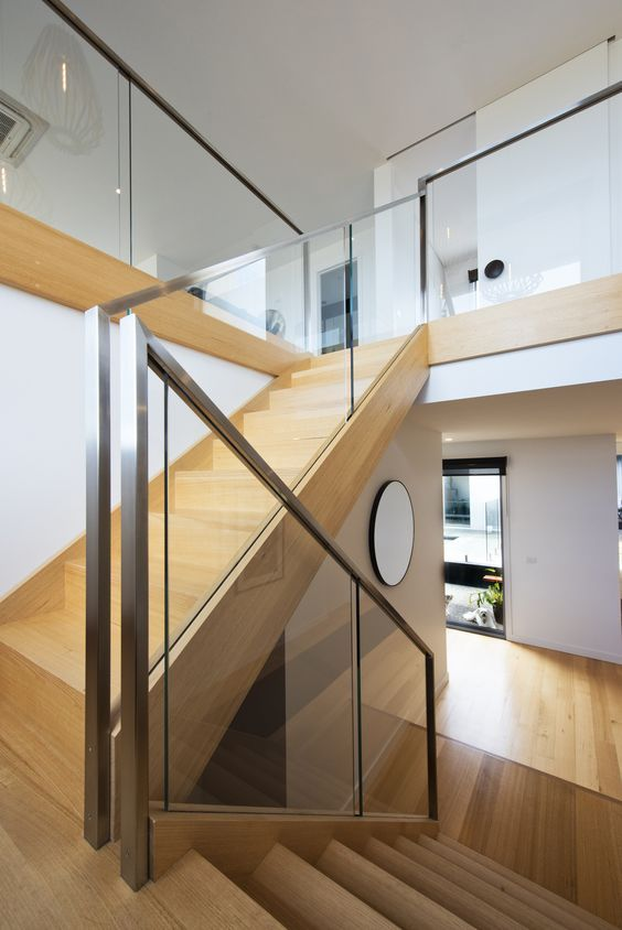 Best 24 Best Glass Staircase And Balustrades Images On 640 x 480