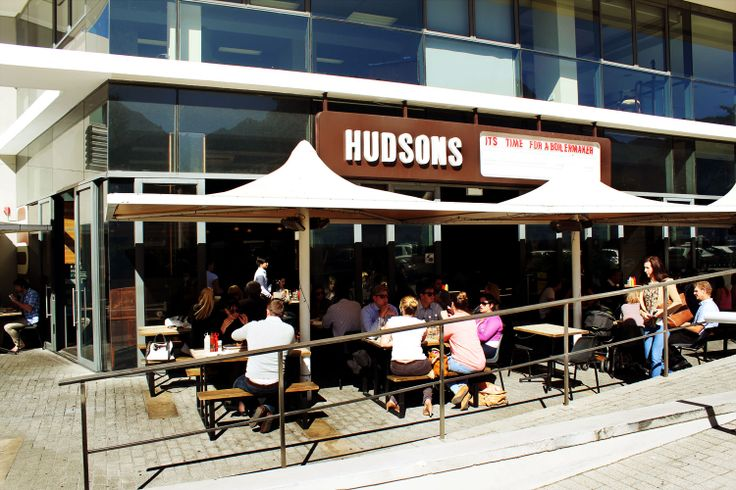 For one of the best burgers in town, pop into Hudsons. You won't regret it! (around the corner from Cavendish Square)