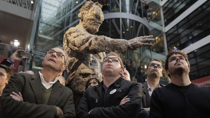 Schlechte Stimmung im Willy-Brandt-Haus in Berlin