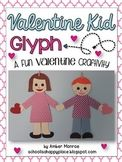 Valentine Kid Glyph {A Fun Valentine Craftivity}