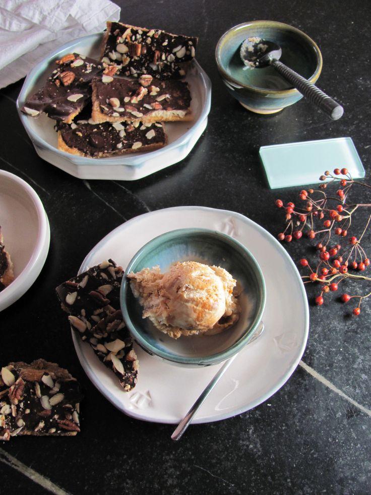 Cuban Coffee Ice Cream With Dark Chocolate And Dulche De Leche Recipe ...
