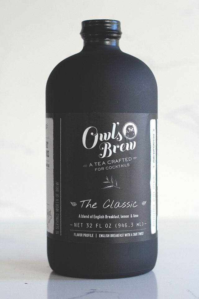 Owl's Brew / tea for cocktails PD