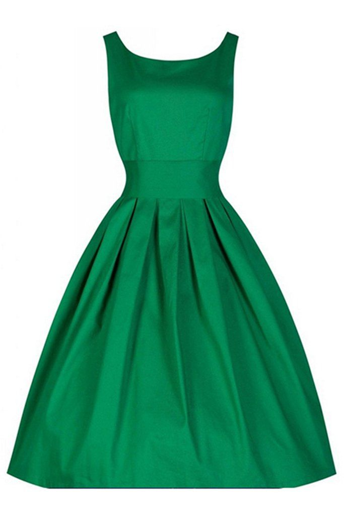 Simple, refreshing and timeless in our Atomic Green Pleated Swing Dress. https://atomicjaneclothing.com/products/atomic-green-pleated-swing-dress